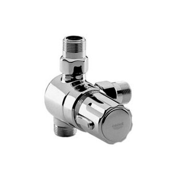 Goedkoopste Grohe Automatic 2000 centraal thermostaat chroom 34616000