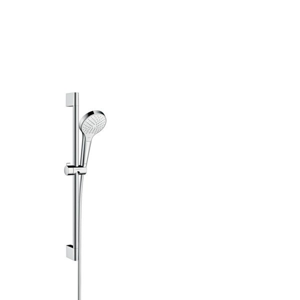 Hansgrohe Croma Select S Vario glijstangset met Croma Select S Vario handdouche EcoSmart 65cm met Is