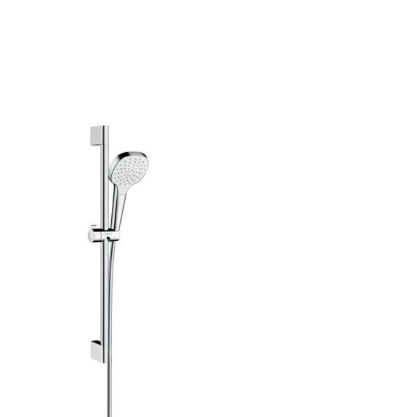 Hansgrohe Croma Select E glijstangset met Croma Select E 1jet handdouche 65cm met Isiflex`B douchesl
