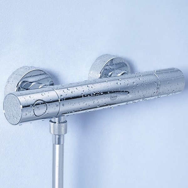 Grohe grohtherm 1000 cosmopolitan m douchekraan for Grohe cosmopolitan 1000 thermostat
