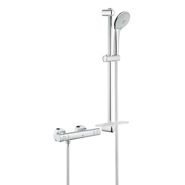 Grohe grohtherm 1000 cosmopolitan m comfortset met for Grohe cosmopolitan 1000 thermostat