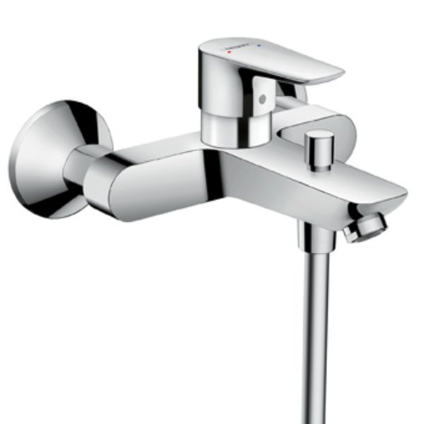 Hansgrohe Talis E badkraan m. omstel m. koppelingen HOH=15cm polished gold 71740990 71740990