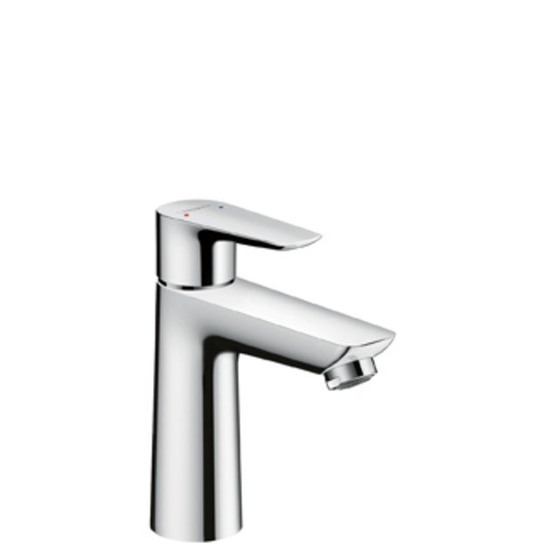 Hansgrohe Talis E 1-gats wastafelkraan 110 m. waste brushed bronze 71710140 SW358784