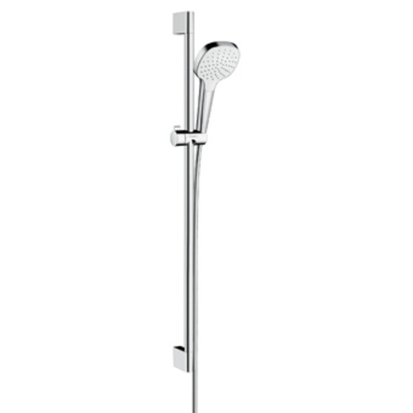 Hansgrohe Croma Select E glijstangset met Croma Select E 1jet handdouche 90cm met Isiflex`B douchesl