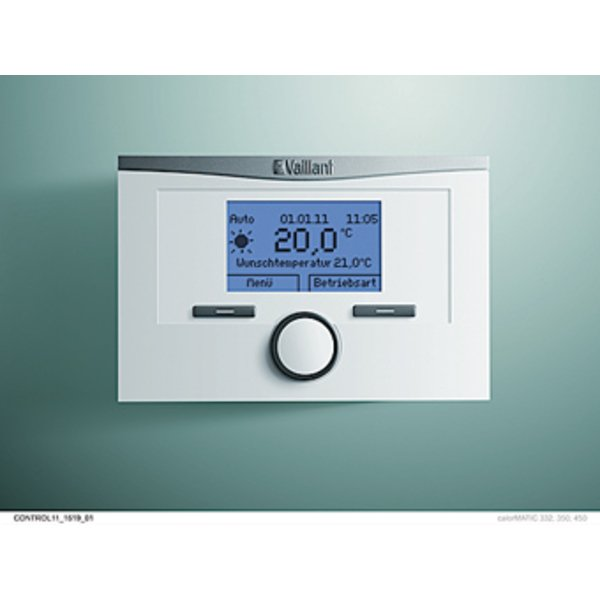 Vaillant calorMATIC klokthermostaat 450 0020116901