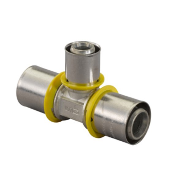 Uponor gas pers T stuk verlopend 32x25x25mm 7470581