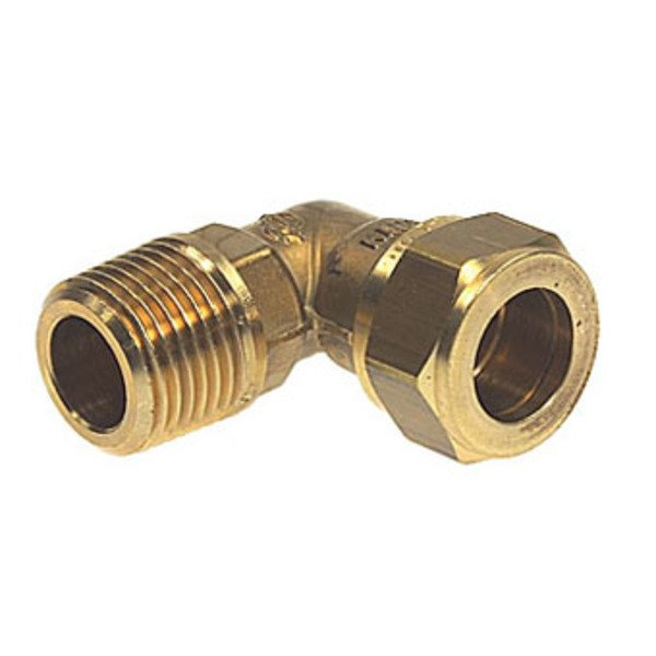 VSH Super Knel Messing knel knie x buitendraad 1/2 x12mm 8920567