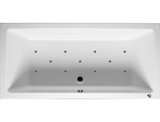 RIHO Lusso whirlpool bad 170x75cm pneumatisch links Wit glans SW16981