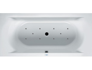 RIHO Lima whirlpool bad 190x90cm elektronisch links Wit glans SW17269