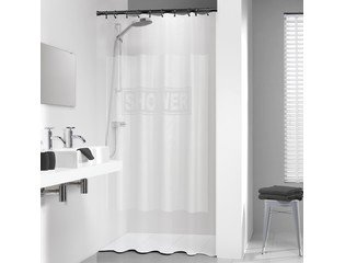 Sealskin Shower douchegordijn vinyl 180x200cm transparant CO210361300