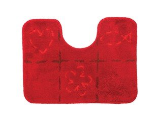 Sealskin Tack Tapis de toilette acrylique 45x60cm rouge CO293278659