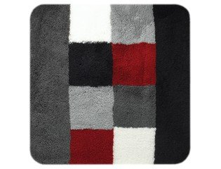 Sealskin Rosalyn Tapis de bidet 60x60cm Acrylique Gris CO294116814