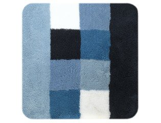 Sealskin bidetmat Rosalyn acryl 60x60cm blauw OUTLET OUT5948