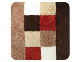 Sealskin Rosalyn Tapis de bidet 60x60cm Acrylique Brique CO294116877