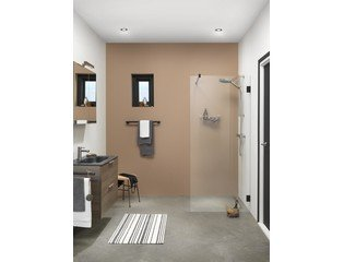 Get Wet by Sealskin I AM Walk in type A3 (divider) 900mm mat zwart 8mm helder veiligheidsglas met antikalk SW88927