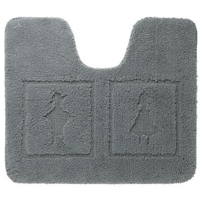 Sealskin Man & woman Tapis de toilette coton 60x50cm anthracite