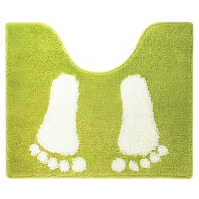 Sealskin Amy Tapis de toilette 60x50cm acrylique lime