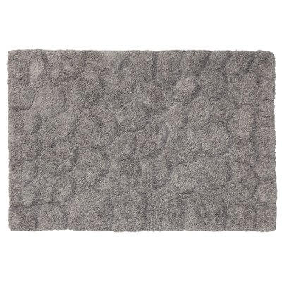 Sealskin pebbles badmat 90x60cm cotton grijs