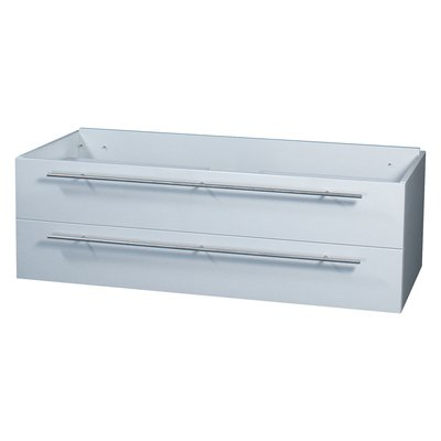 Differnz Force Onderkast 125x40x52cm 2 lades met softclose MDF Wit