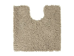 Differnz Chenille Shaggy Wc mat 60x60 Taupe SW71536