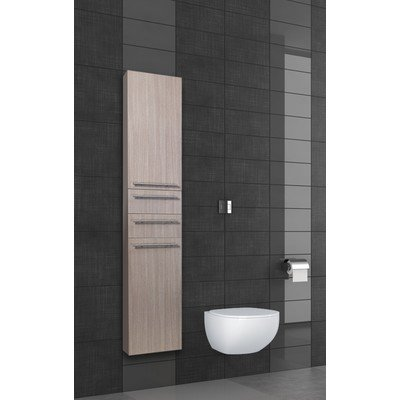Differnz Force kolomkast 35x176x30cm rechts MDF Eiken OUTLET