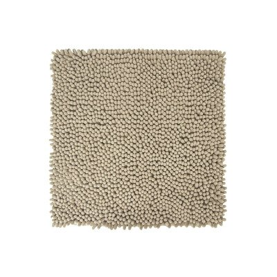 Differnz Chenille Shaggy Badmat 60x60 Taupe