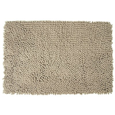 Differnz Chenille Shaggy Badmat 60x90 Taupe