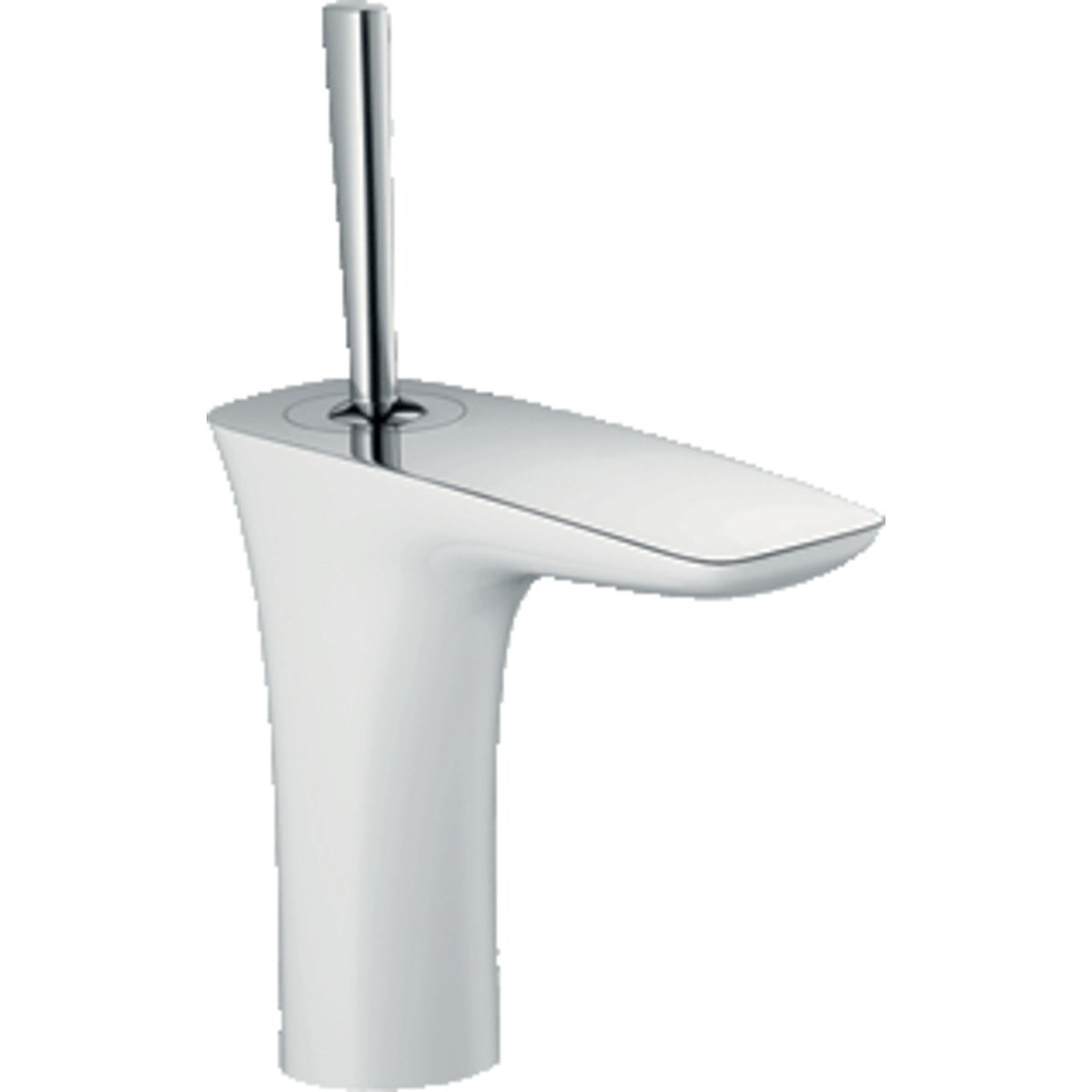 hansgrohe puravida robinet pour lavabo avec bonde chrom blanc 15074400. Black Bedroom Furniture Sets. Home Design Ideas