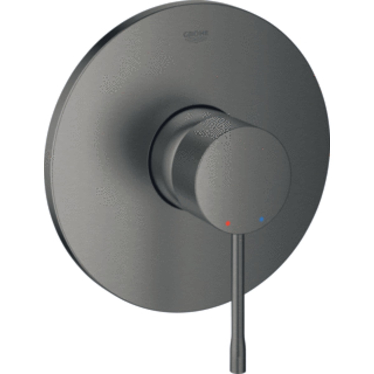 grohe essence new partie de finition mitigeur douche encastrable graphite dur bross 24057al1