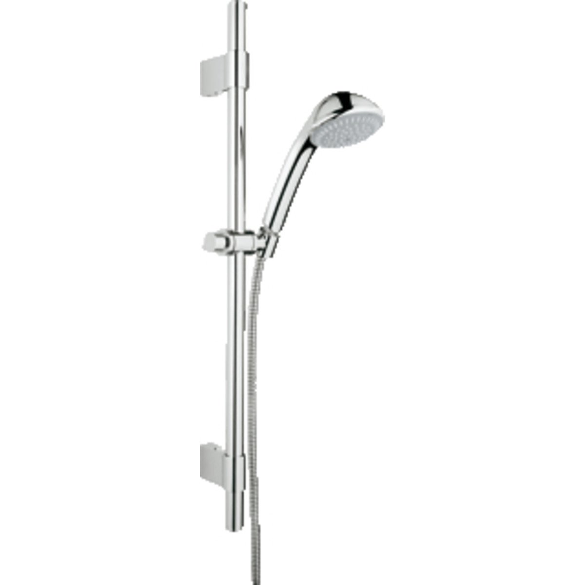 grohe relexa2 ensemble de douche 60cm avec douchette main trio chrome 28942001. Black Bedroom Furniture Sets. Home Design Ideas
