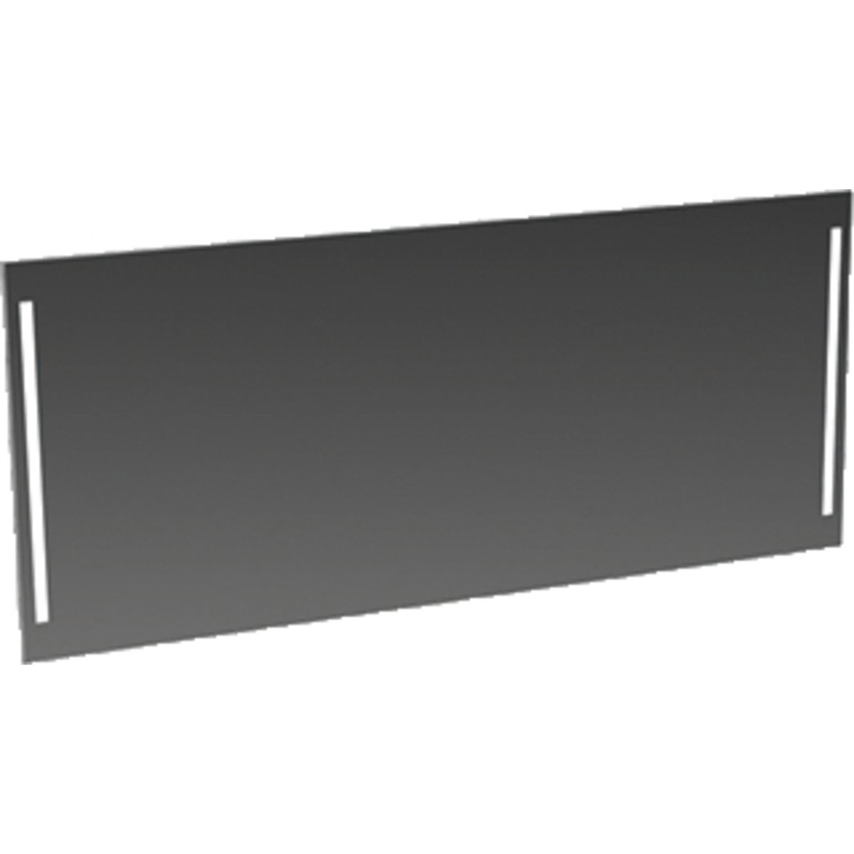 bruynzeel panneau miroir 150x70cm avec lumi re led. Black Bedroom Furniture Sets. Home Design Ideas