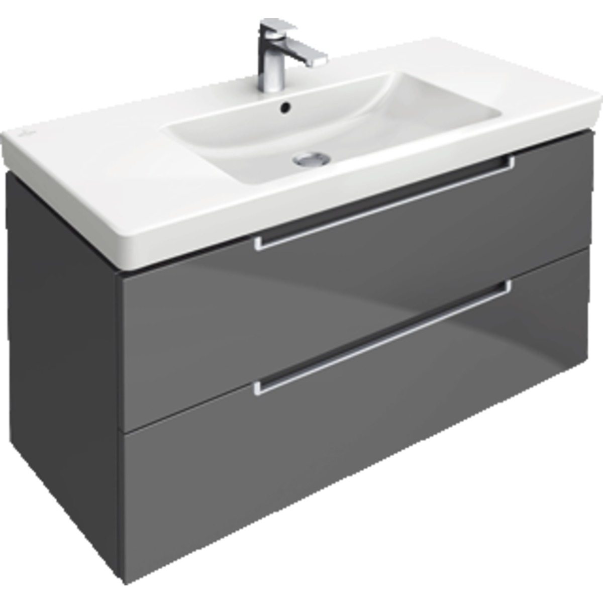 Villeroy boch subway 2 0 meuble sous lavabo for Meubles 2 0