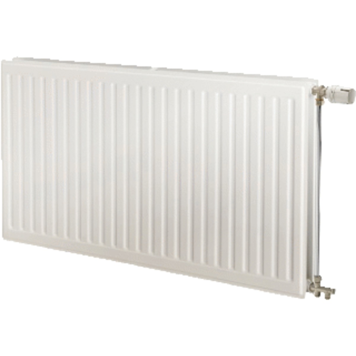 Radson Cld Radiator.Radson Cld Radiator Paneel H50xd17 2xl150cm 1888 5w Staal Wit