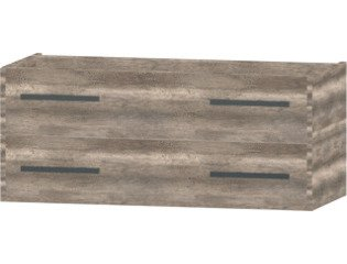 Wavedesign San marino wastafelonderkast 120x45cm canyon oak SW98580