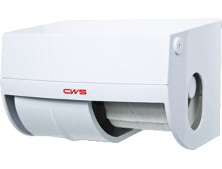 CWS Paradise Closetrolhouder ABS Wit SW114176