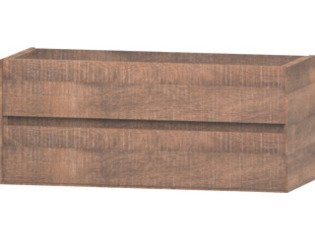 Wavedesign Pescara wastafelonderkast 120x46 cm brown oak SW98514