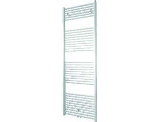 DRL Tekno Radiator (decor) H120xD3xL50cm 543W Staal Wit SW139045