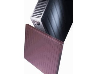 Radson Compact Radiator (paneel) H45xD6.5xL105cm 819W Staal Wit SW130353