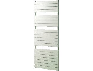 VASCO ASTER Radiator (decor) H145xD4.4xL60cm 812W Staal Wit SW138926