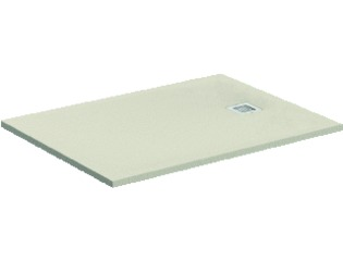 Ideal Standard Ultra Flat Douchebak H3xB80xL100cm rechthoek 1antislip Composiet Zandbeige SW114205