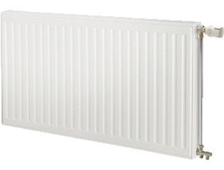 Radson Compact Radiator (paneel) H75xD10.6xL300cm 6450W Staal Wit SW121561