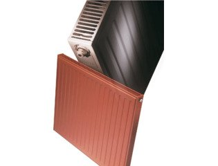 Radson Compact Radiator (paneel) H60xD6.5xL165cm 1637W Staal Wit SW130442