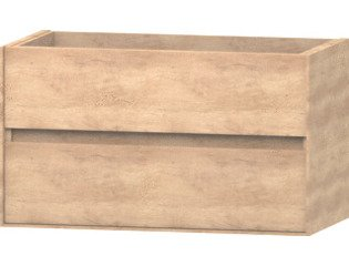 Wavedesign Pescara wastafelonderkast 90x46 cm naturel oak SW98525