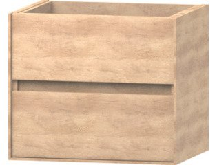 Wavedesign Pescara wastafelonderkast 60x46 cm naturel oak SW98519