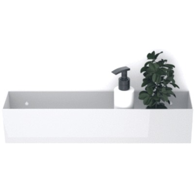 LoooX Special box rechthoek 30x10x10cm wit OUTLETSTORE