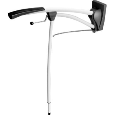 Invacare Revato Toiletsteun B13.5xL100cm Staal Wit