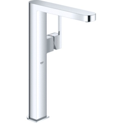 Grohe Plus 1-gats wastafelkraan XL-size m. gladde body chroom 32618003