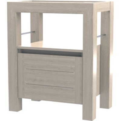 Wavedesign San remo wastafelonderkast 70x45cm white wash