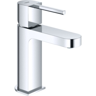 Grohe Plus 1-gats wastafelkraan S-size m. gladdy body en push open waste chroom 33163003