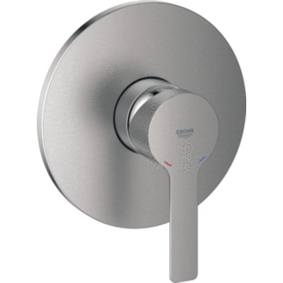 Grohe Lineare afdekset douche supersteel supersteel